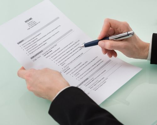 resume proofreading and editing service